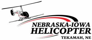 Nebraska Iowa Helicopter logo
