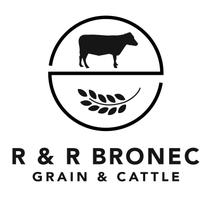 R&R Bronec Grain and Cattle logo