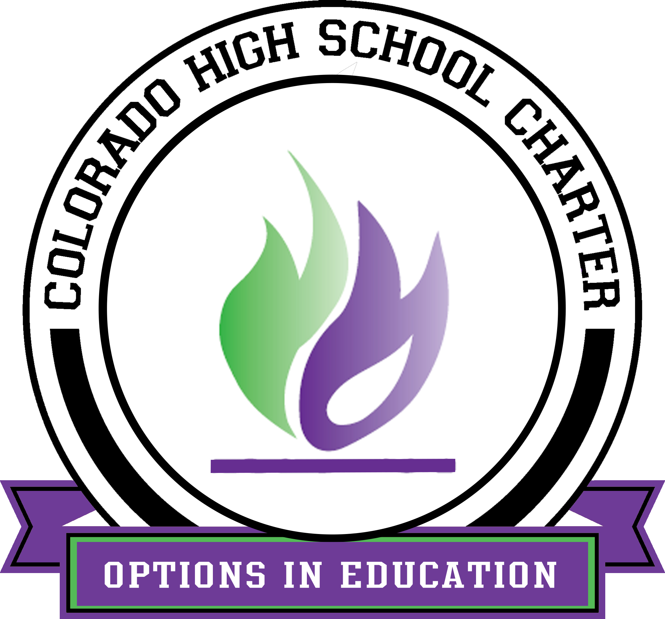 Colorado High School Charter logo