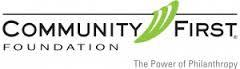 Community First Foundation logo
