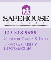 Safe House Denver logo