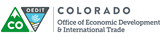 The Colorado Office of Economic Development logo