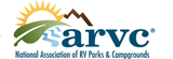 The National Association of RV Parks and Campgrounds logo