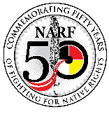 The Native American Right Fund logo